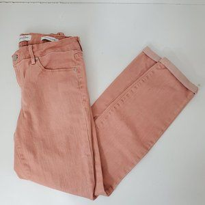 Jessica Simpson Rolled Crop Skinny Jeans 6/28